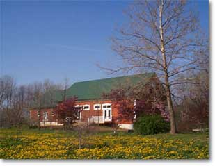 Nancy's barn where the workshops are held!