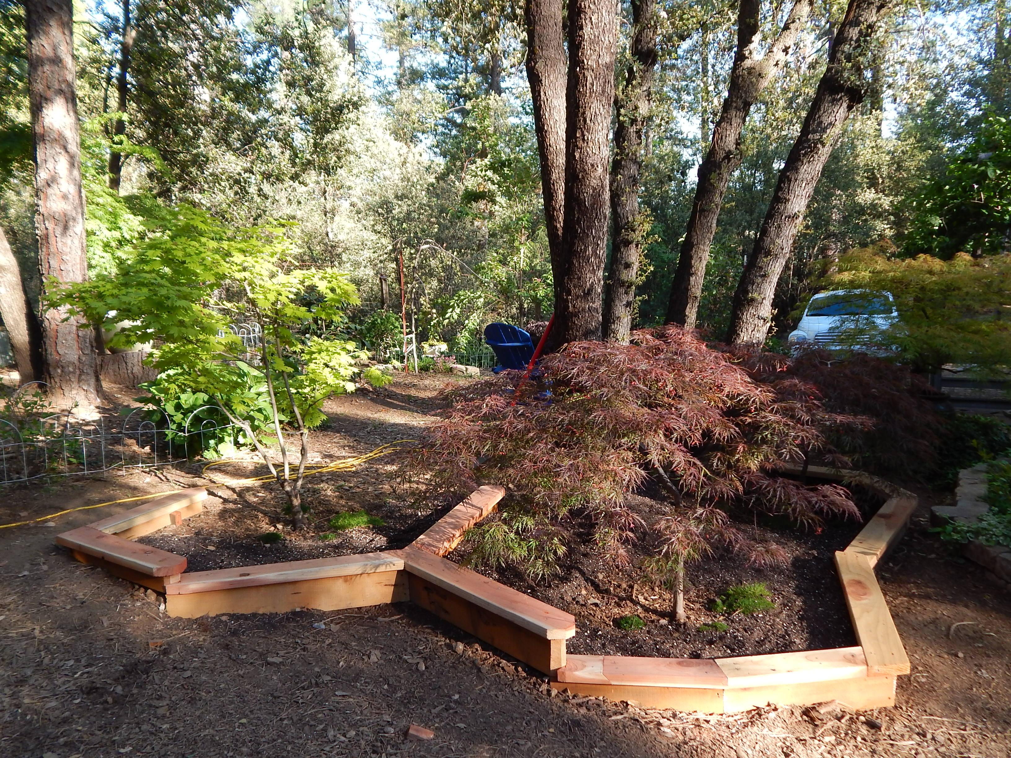 Wood Border Garden wwwgalleryhipcom The Hippest Pics
